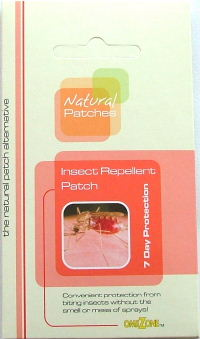 Omezone insect repellent patches for kids